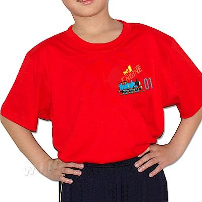 湯瑪士小火車 兒童精梳棉彩色短袖-混色3件組- MIT(TH1211)