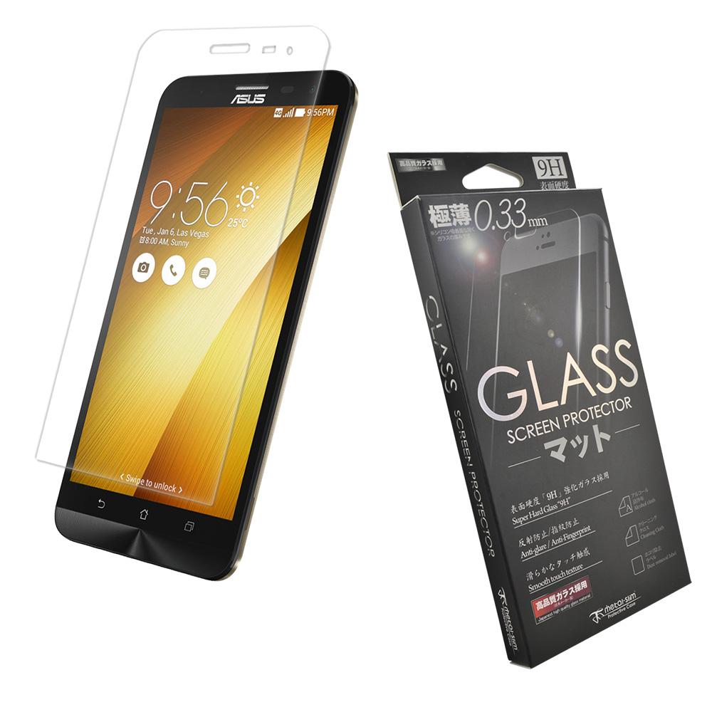 Metal-Slim 華碩ZenFone2 Laser(ZE601KL)9H耐磨鋼化玻璃貼