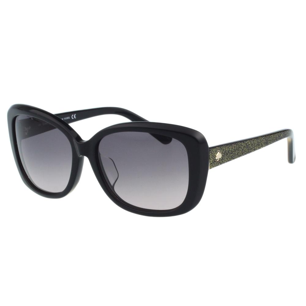 Kate Spade-造型方框 太陽眼鏡(黑色) @ Y!購物