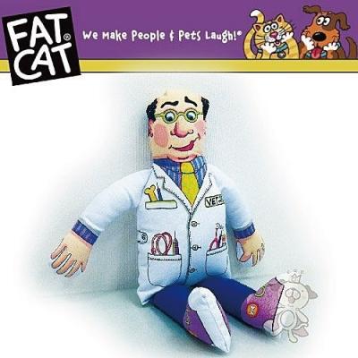 FAT CAT 醫生造型發聲啾啾玩具