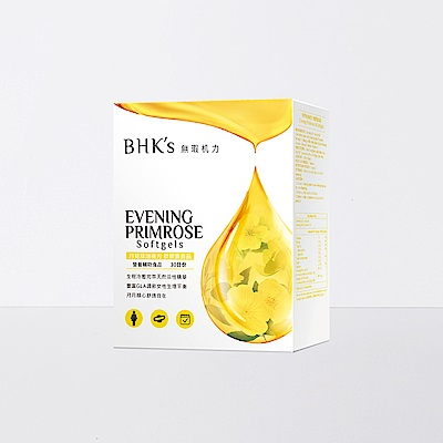 BHK's 月見草油複方 軟膠囊 (60粒/盒)