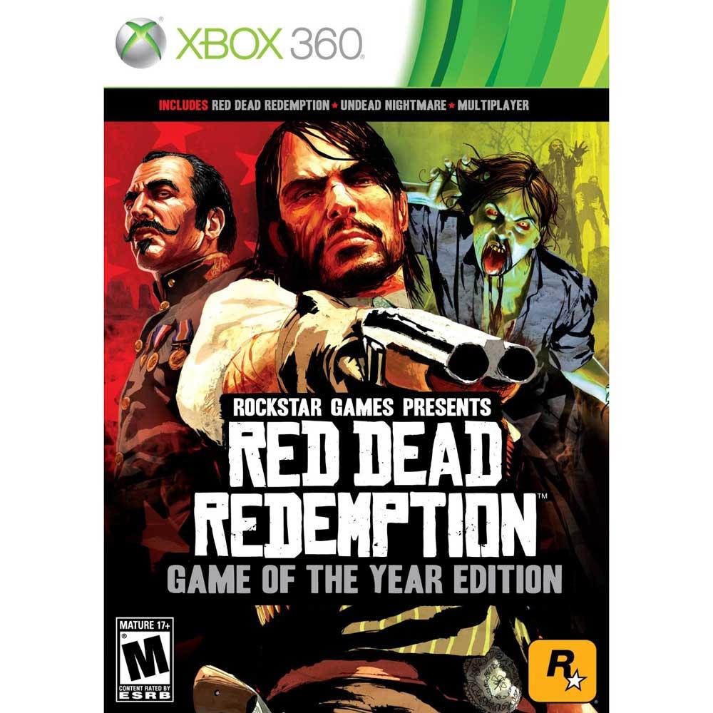 碧血狂殺年度紀念特別版RED DEAD REDEMPTION-XBOX360英文美版