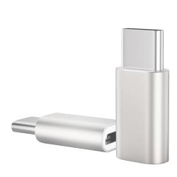 USB 3.1 Type-C(公) 轉Micro USB(母) OTG鋁合金轉接頭