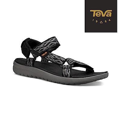 TEVA 美國 男 Sanborn Universal 輕量運動涼鞋 鎖鏈黑