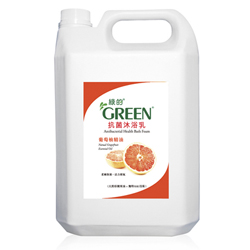 綠的GREEN 抗菌沐浴乳加侖桶-葡萄柚精油3800ml