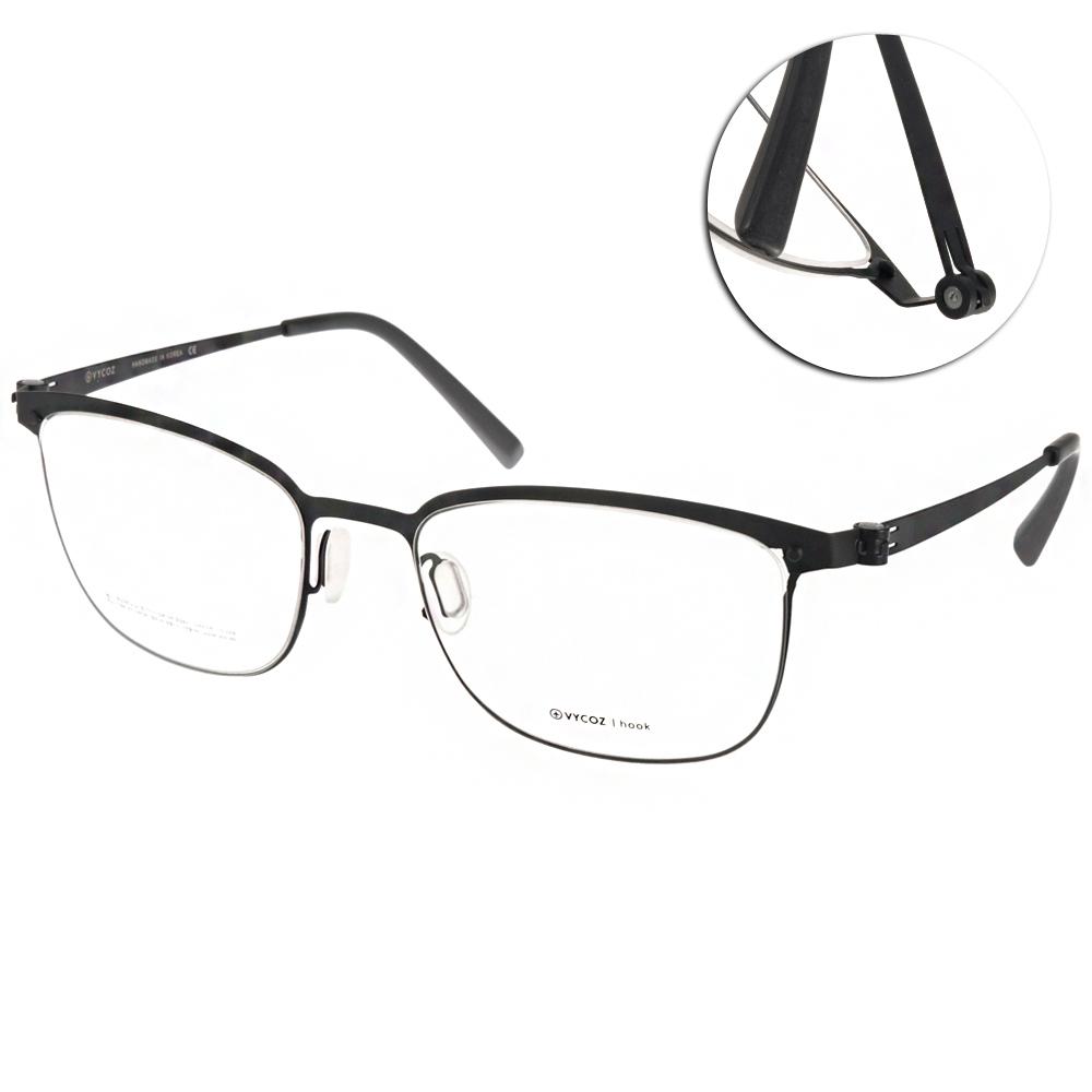 VYCOZ眼鏡 極簡薄鋼款/黑#DECK BLK