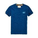 SUPERDRY 極度乾燥 短袖 文字T恤 藍色 370