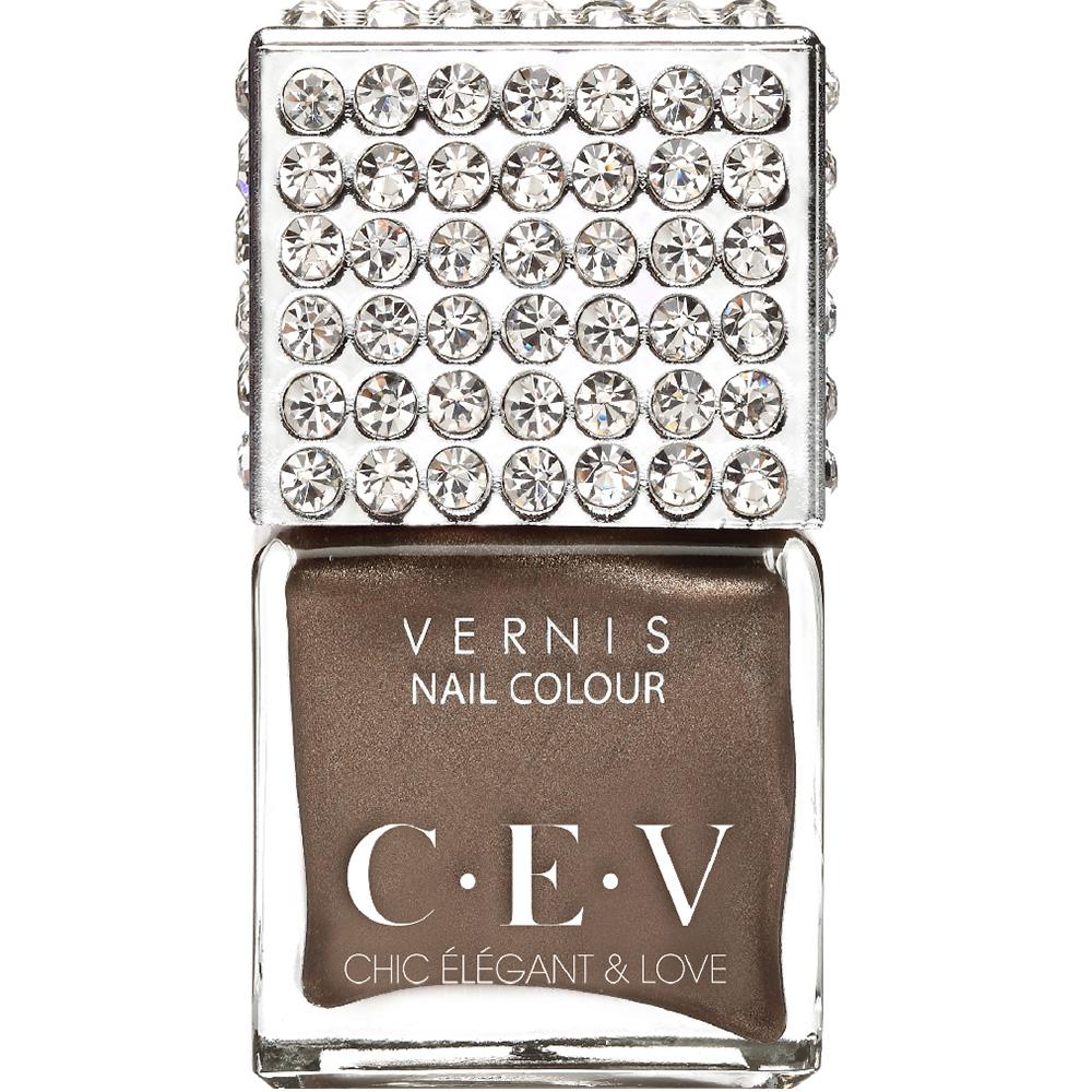 CEV超釉光極緻指彩-LC02 焦糖瑪奇朵 指甲油 15mL