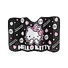Sanrio HELLO KITTY可折疊車用遮陽板(粉紅愛心)