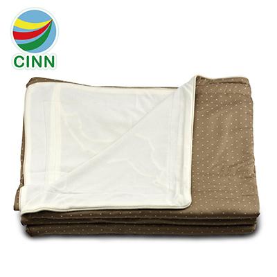 卓瑩 遠紅外線非動力式 治療床墊 未滅菌 (5件組咖啡點點-附毯被/枕套/棉被)