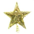 閃亮金網樹頂星 (5尺以上聖誕樹適用)