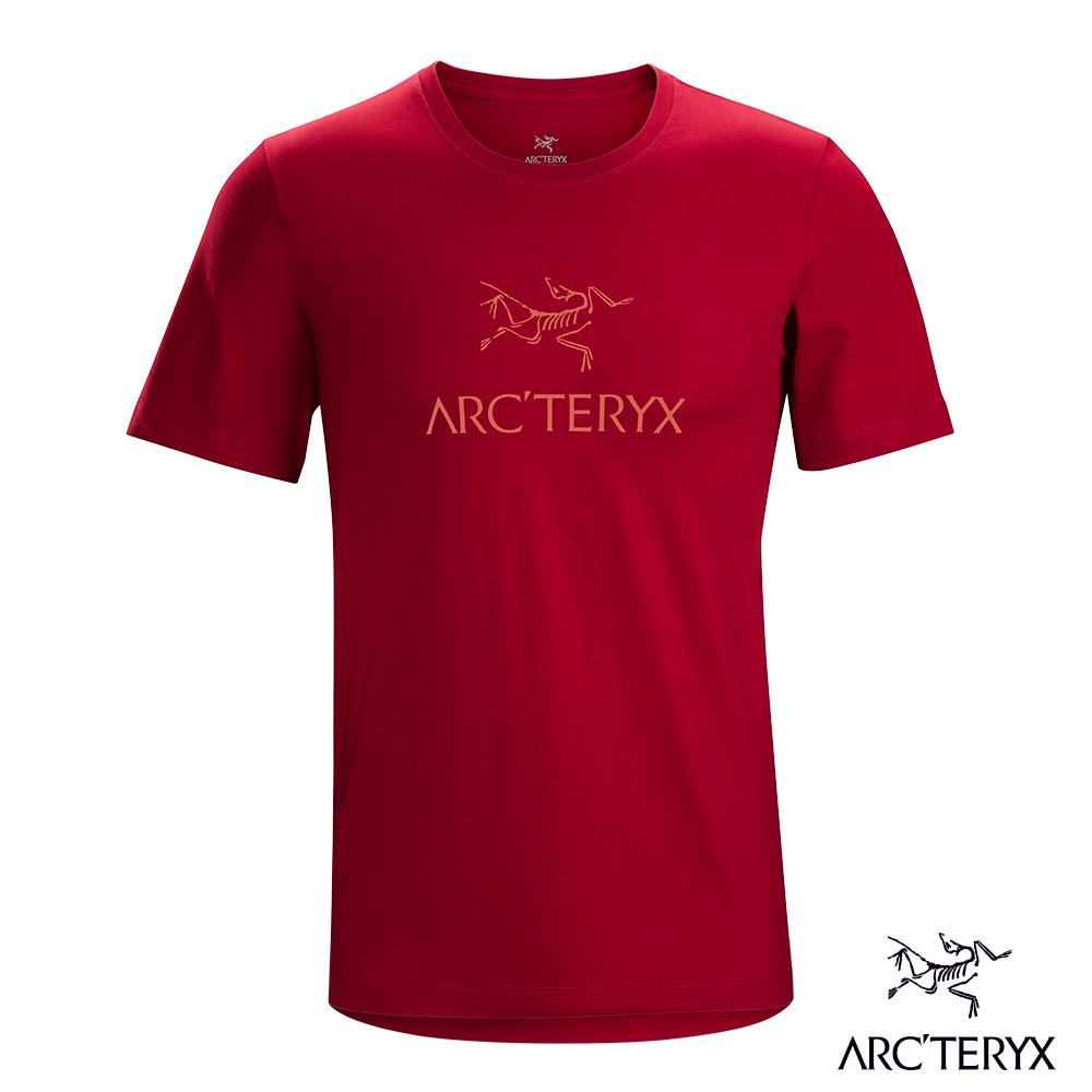 Arcteryx 24系列 男 有機棉 ARC'WORD 短袖T恤 紅海灘