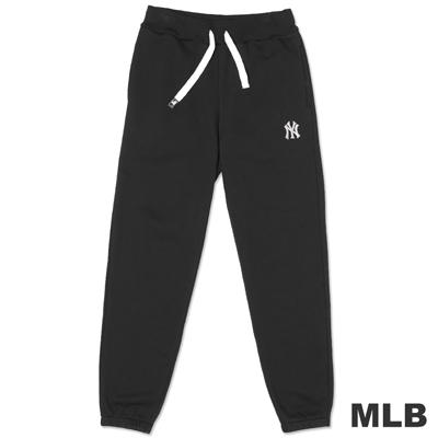 MLB-紐約洋基隊細緻電繡休閒長褲-黑(女)
