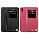 Metal-Slim HTC Desire 728 dual sim 智能開窗站立皮套