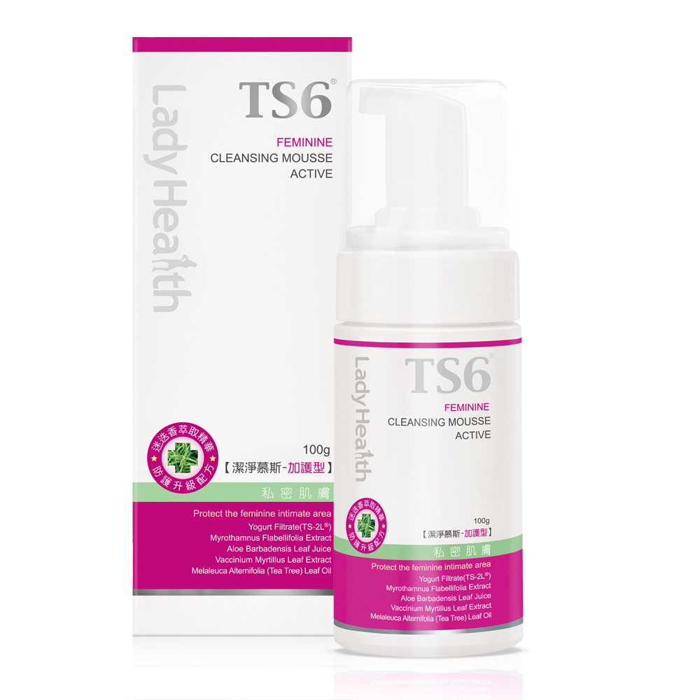 TS6護一生 潔淨慕斯加護型100g