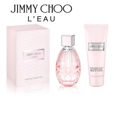 JIMMY CHOO 戀曲女性淡香水60ml(送身體乳100ml)
