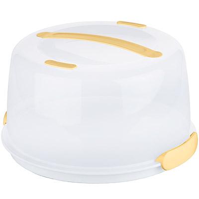 TESCOMA 加高型提蓋保冷野餐盒(圓34cm)