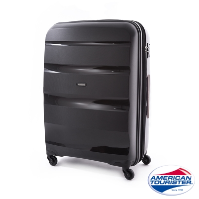 AT美國旅行者 24吋Bon-Air可擴充PP材質四輪拉桿箱(時尚黑)