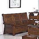 H&D 樟木實木三人椅 (寬191X深72X高102cm)