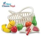 【荷蘭New Classic Toys】水果藍切切樂8件組10588