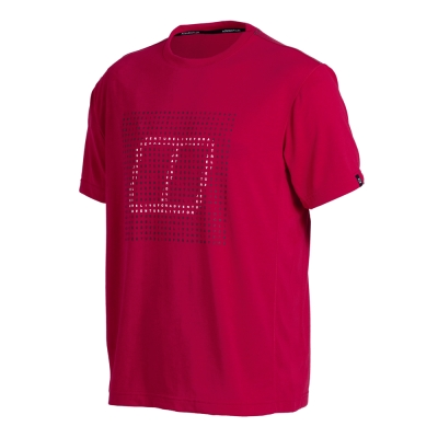 【Berghaus 貝豪斯】男款銀離子短袖T恤S04M03-紅