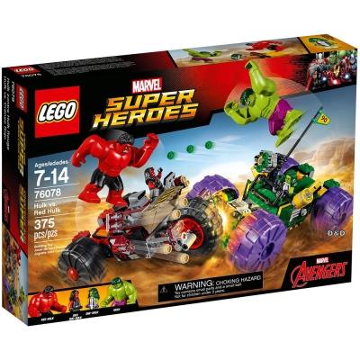 樂高LEGO 超級英雄系列 - LT76078 Hulk vs. Red Hulk