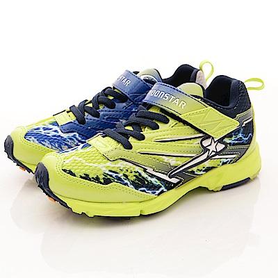 日本月星頂級童鞋 競速衝刺運動鞋 SE967綠(中大童段)