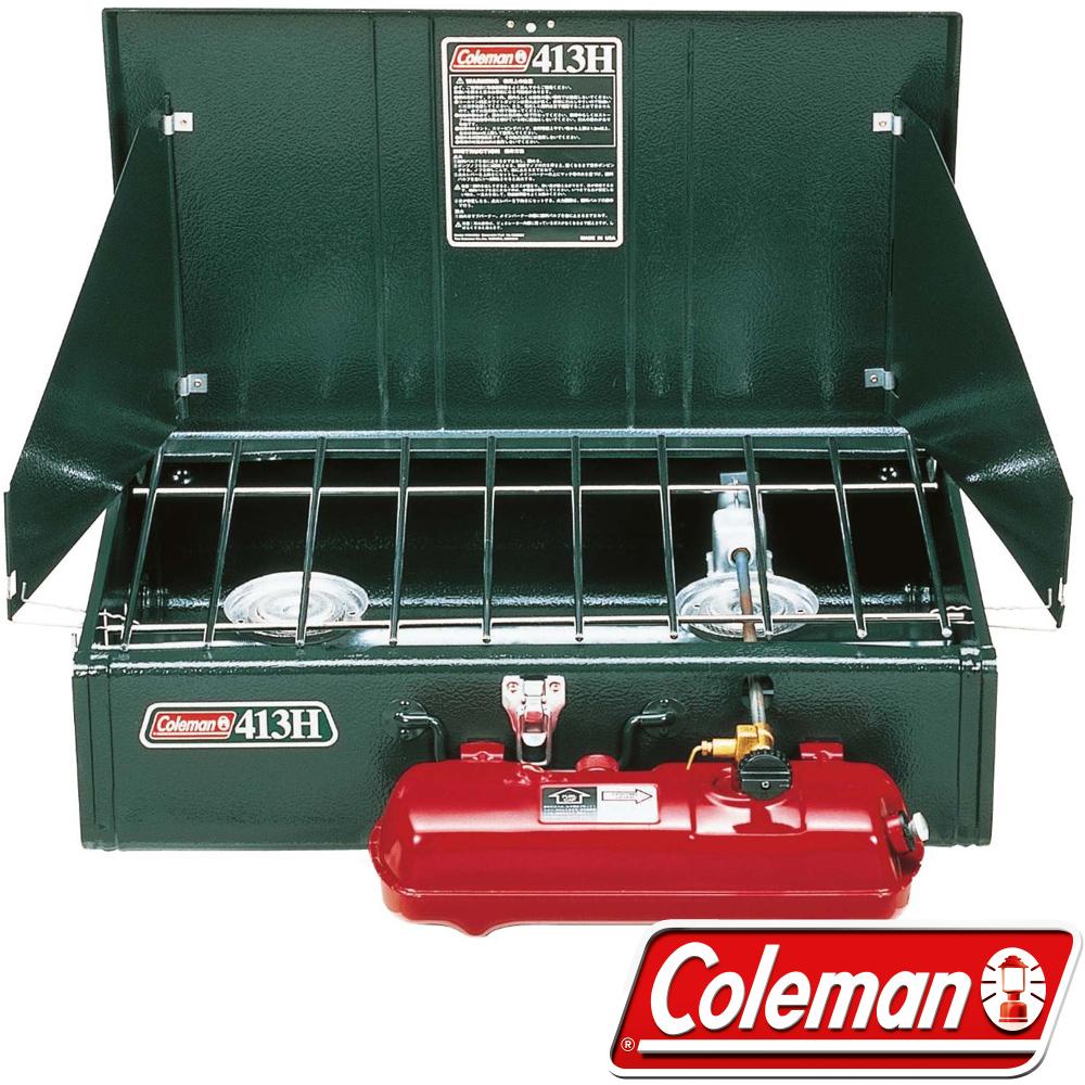 Coleman 0391 413氣化雙口爐(使用去漬油) 露營爐具/汽化爐/瓦斯爐/快速爐