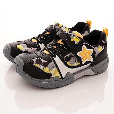 日本Carrot機能童鞋 2E腳踏車鞋 TO1776 黑 (中小童段)T1