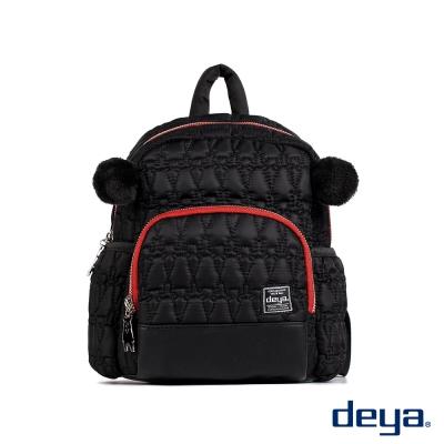 deya 黑森林熊耳雙肩後背包