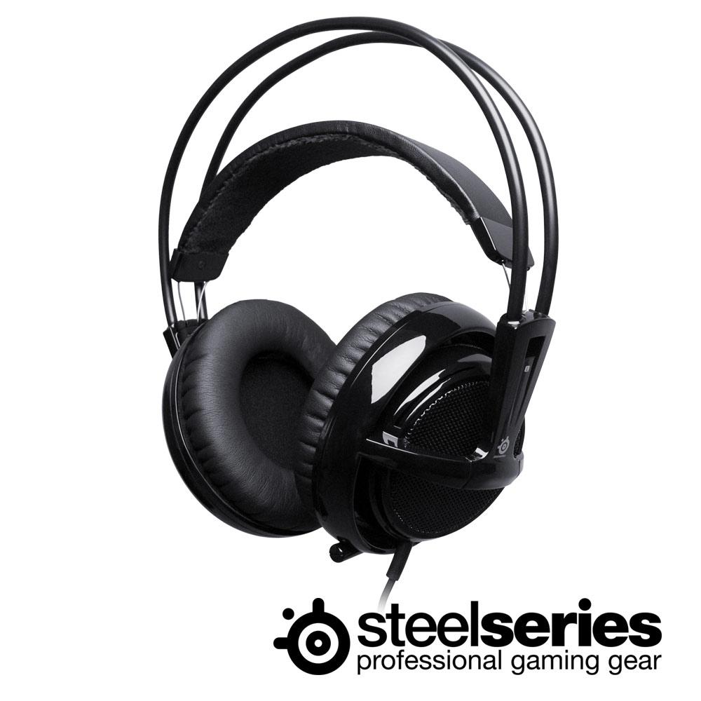 ★SteelSeries 西伯利亞 V2 黑色 電競耳機麥克風