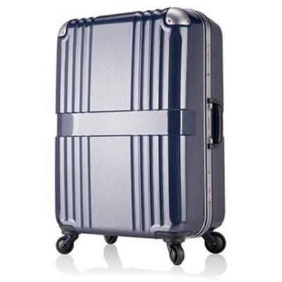 日本 LEGEND WALKER 6020-68-28吋 鋁框輕量行李箱 碳纖藍
