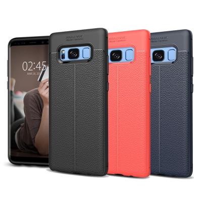 VXTRA Samsung S8+/S8 Plus 手感皮紋風 軟性手機殼