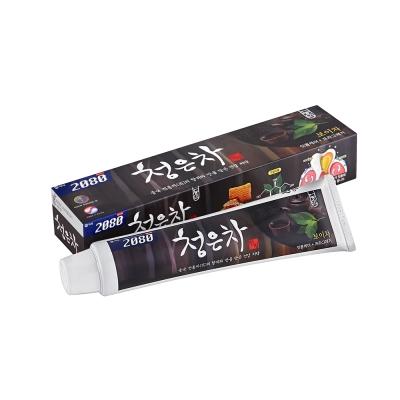 韓國2080 清齦茶-韓方護齦茶牙膏.黑茶120gX3入
