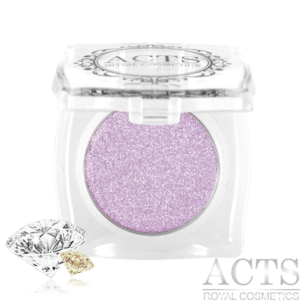 ACTS維詩彩妝 魔幻鑽石光眼影 粉藕紫鑽D523