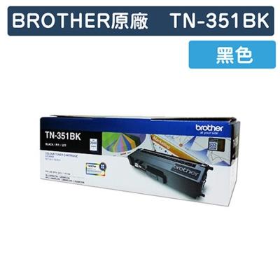 【福利品】Brother TN-351BK 原廠黑色碳粉匣 @ Y!購物