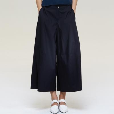 極寬版褲裙-黑-everysum