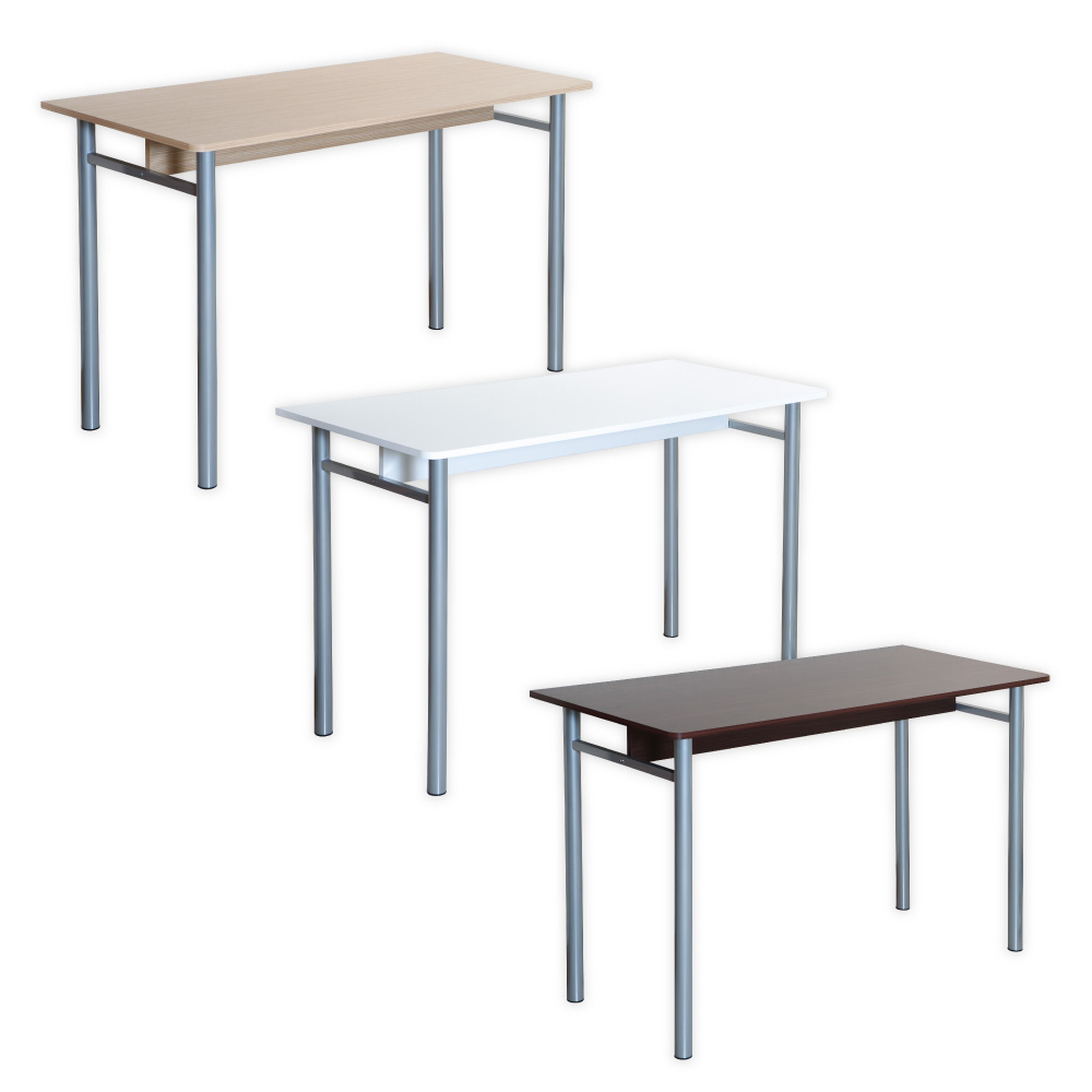【歐琴斯】多用途圓腳工作桌/電腦桌-三色可選