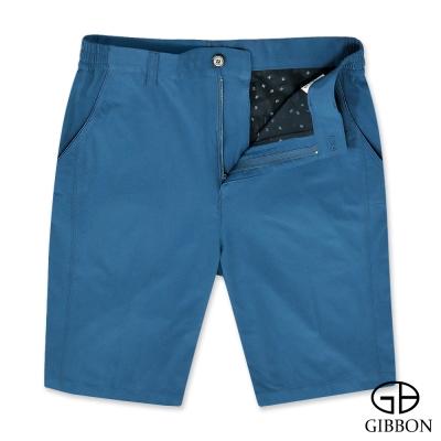 GIBBON 吸濕排汗彈力休閒短褲‧軍藍M-3XL