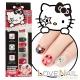 Hello Kitty x LOVE NAIL限定版指甲油貼-搖滾英倫格紋 product thumbnail 1