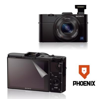 PHOENIX-Sony-RX100-M2-高流速-螢幕貼-二入
