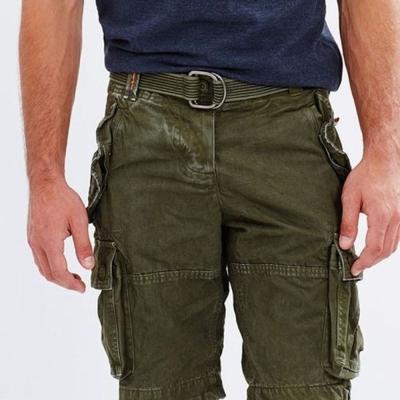 SUPERDRY 極度乾燥 短褲  綠色 383