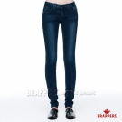 BRAPPERS 女款 新美腳Royal系列-女用中低腰彈性窄管褲-藍