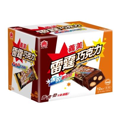 義美 雷霆巧克力(25gx12包)