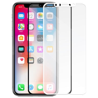 Metal-Slim Apple iPhone X 滿版鋼化玻璃保護貼