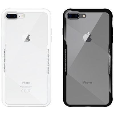 Metal-Slim Apple iPhone 7/8 Plus 鋼化玻璃保護殼