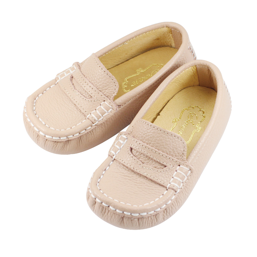 Swan天鵝童鞋-休閒時尚柔軟豆豆鞋 3721-卡