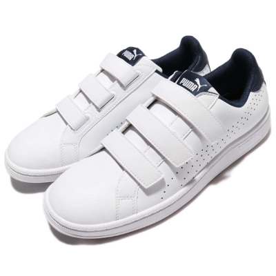 Puma 休閒鞋 Smash Velcro 女鞋 男鞋