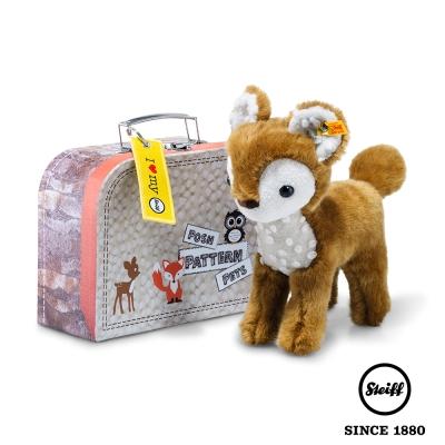 STEIFF德國金耳釦泰迪熊 小鹿 Darlin deer (行李箱系列)