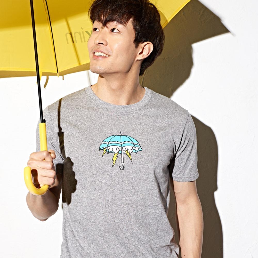 CACO-下雨雨傘短T-男